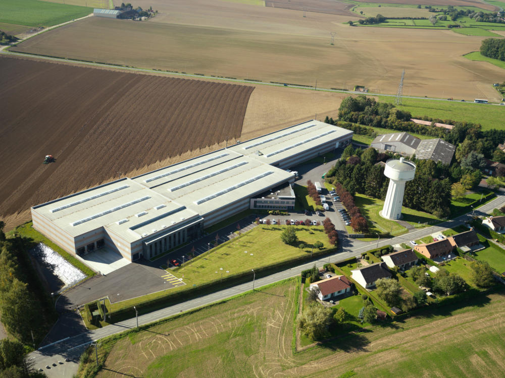 Stockage Groupe Edelweiss Hautmont France